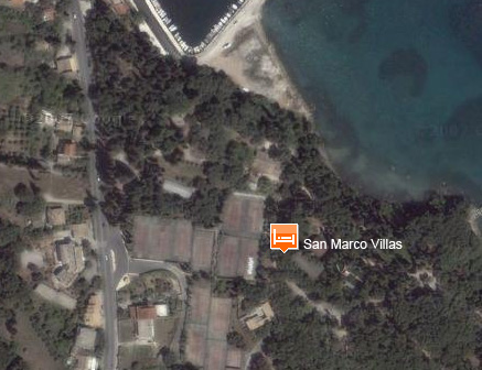 aghios marcos area map